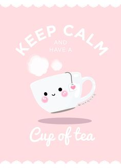 Keep Calm and have a cup of tea I designed some cute wallpapers Phone wallpapers availables for FREE! I hope you guys like it ^-^ Inspired on lieveheersbeestje . Tea Wallpaper, Hippie Wallpaper, Phone Wallpaper Quotes, Cute Wallpaper For Phone, Iphone Wallpaper, Quotes We Heart It, Kawaii, Tea Puns, Davids Tea