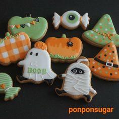 2015年10月 ハロウィンレッスン - #アイシングクッキー #クッキー #sugarcookie #icingcookie #ハロウィン #Halloween
