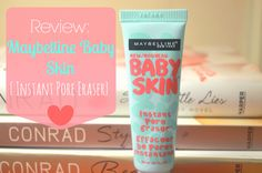 Maybelline Baby Skin.  Clear primer.  Works as well as any I've tried including some very expensive ones and slightly better than the anti chafing gel dupe