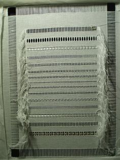 drawn thread work