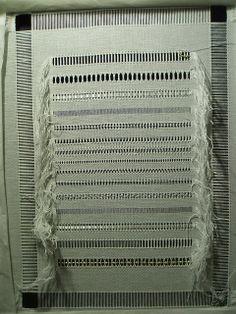 drawn thread work