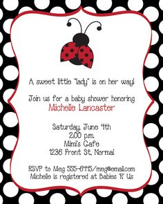 Lily's Baby shower!