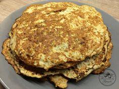 Homemade Celery Pancakes...celery, egg, egg white, himalayan salt, garlic, marjoram
