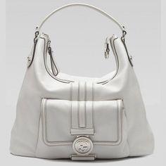 Gucci 232935 A7M0N 9014 G Coin'Medium Hobo Mit Verriegelung G Ornament Gucci Damen Handtaschen