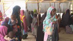 La escuela, un refugio seguro para los niños desplazados por el hambre y...