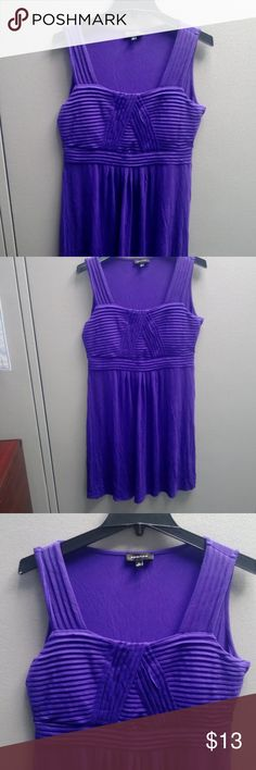 Spence Shoulder-Strap Purple Sundress This adorable sundress is extremely comfortable and looks great on!  Fabric is 97% Viscose & 3% Spandex and is machine washable! Spence Dresses Midi
