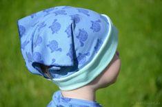 Aus den wundervollen Jerseystoffen aus unseremShop kann man so einiges machen, dachte sich auch Bloggerin Julia von Textilsucht und hat für dicheine Anleitung für ein Kinderkopftuch entwickelt. Den Kleinen wird die Sommerhitze somit nicht mehr auf den Kopf schlagen.