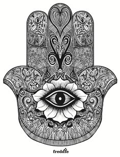 Beautiful Hamsa for possible tattoo