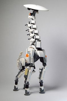 Build your own LEGO Tallneck from Horizon Zero Dawn [Instructions]