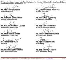 Παγκόσμιο Καταπίστευμα | ΕΙ-E.N.D Πρωτοβουλία Πατρών Right Wing, British Royals, Queen Elizabeth, Presidents