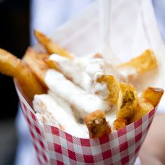 Oh yeah. Pommes Frites @ Pommes Frites in NYC, NY