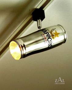 Beer Can Track Light - Design Atento