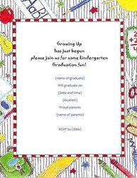 free graduation programs template