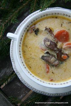 MojeTworyPrzetwory: Zupa grzybowa na Wigilię - Najlepsza!