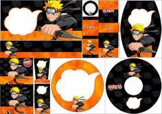 Naruto: Etiquetas para Candy Bar para Imprimir Gratis.