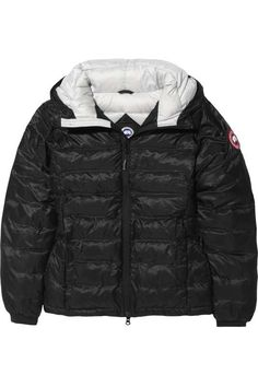 Love the Canada Goose Camp Hoody quilted down coat on Wantering.