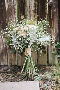 Baby's Breath, Seeded Eucalyptus, Dusty Miller, Stock and Spray Roses