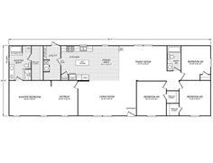 Mobile Home Floor Plans Adobe And Modular Homes On Pinterest