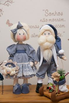 Casal Noel - Érica e Enrico (kit completo)