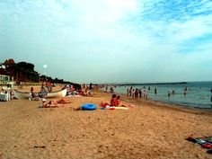 Statiunea Eforie Sud, Romania Dolores Park, Engineering, Clouds, Beach, Water, Travel, Outdoor, Gripe Water, Outdoors