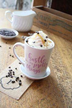 Dairy Free Salted Caramel Hot Chocolate.  gluten-free, dairy-free, egg-free, soy-free, fish-free, shellfish-free, nut-free, peanut-free
