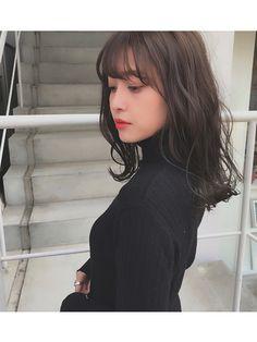 Winter Hairstyles, Bob Hairstyles, Everyday Hairstyles, Japanese Haircut, Japanese Hairstyles, Pink Short Hair, Medium Hair Styles, Short Hair Styles, Ulzzang Short Hair