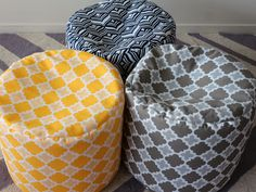Outdoor Ottoman from blobbeanbags.com