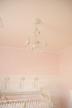 Such a pretty chandelier. This would look cute in Hannah's room.