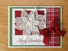 Stampin Up handmade Christmas card white vellum par treehouse05