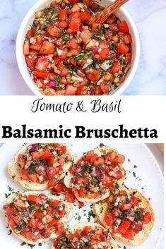Balsamic bruschetta is a light and refreshing topping for crusty bread or chicken.Top on toasted garlic bread and serve at parties or as a snack or lunch. Picnic Date Food, Picnic Snacks, Picnic Dinner, Picnic Ideas, Picnic Parties, Picnic Recipes, Good Picnic Food, Beach Picnic, Healthy Picnic Foods