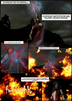 Latest page from Age of ruin. Kaldrbane.thecomicseries. Com
