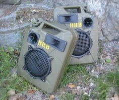 Jerrycan speakers / instructables.com