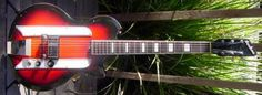 Vintage 1960's Airline Electric Guitar
