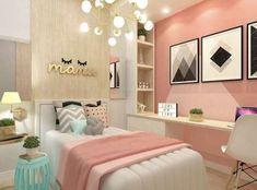 Surely effortless Teen Girl Bedrooms for exciting bedroom decor, reference 2386521067 Teen Bedroom Colors, Girl Bedroom Designs, Teen Girl Bedrooms, Master Bedroom Design, Bedroom Decor, Bedroom Ideas, Headboard Ideas, Bedroom Turquoise, Woman Bedroom