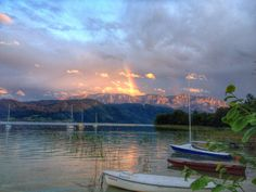 Kulisse des Sommers am Attersee 2014