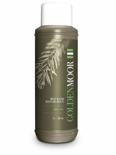 Golden Moor Mud Bath, Pine. Moor Extract, a Natural Therapeutic Mud. (1 Litre)