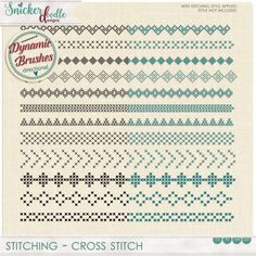 Stitching Cross Stit