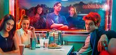 "The aerial shots in the opening credits are the same as the ones they used for Pretty Little Liars and Gilmore Girls. 21 Things Every ""Riverdale"" Fan Should Know Riverdale Comics, Riverdale Quiz, Riverdale 2017, Riverdale Season 2, Riverdale Quotes, Riverdale Cast, Riverdale Poster, Riverdale Netflix, Movies"