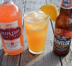 Our shandys are perfect for beer cocktails so we teamed up with Deep Eddy Vodka to bring you Ruby Traveler! Get the recipe featuring Illusive Traveler and Deep Eddy Ruby Red on our website: http://travelerbeer.com/rubytraveler/ .