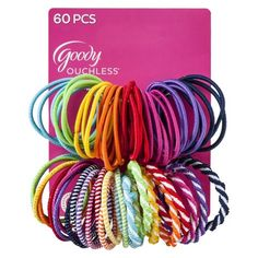 Goody Girls Mixed Elastics - 60 Count