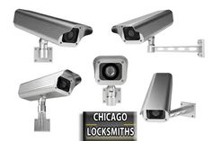 Chicago Locksmiths can install and repair CCTV in your business or home.    You can watch your business or home from anywhere in the world.
