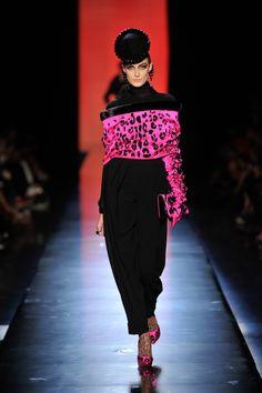 Jean Paul Gautier Fall/Winter 2013-14 Couture Collection #pfw #hautecouture #fashionweek