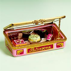 Limoges Pastries in Vitrine Box The Cottage Shop