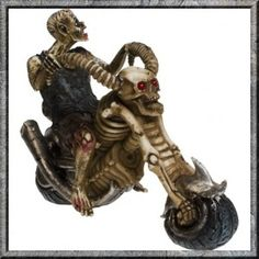 Biker Ornament Hell Rider Zombie Biker. Hell Rider Zombie Biker. Zombie? To be honest, most of us look like this after a weekend away at a biker rally.