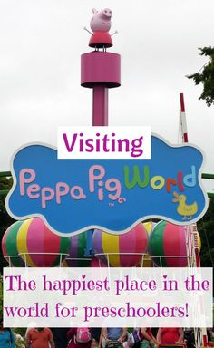 All the information you need to know from our visit to Paultons Park and Peppa Pig World - our favourite place with toddlers and preschoolers http://www.wheressharon.com/europe-with-kids/paultons-park-peppa-pig-world-review/