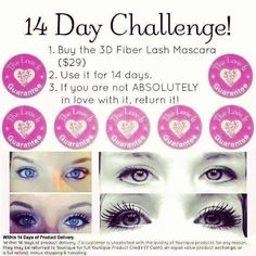 Still unsure of the 3D lashes?? Take our challenge.
