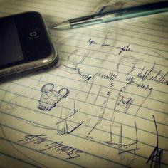 Então pra  estreia desse quadro  temos a criação da jaqueta  Ghost Mouse.