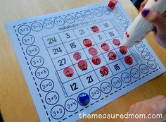Get 11 free multiplication bingo games - perfect for mastering all the facts!