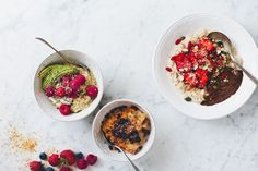 Even though we have posted countless porridge recipes on this blog – baked, soaked and cooked – we recently realized that we never have posted one of our standard breakfast oatmeals. Oatmeal is one…