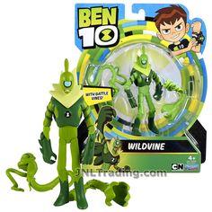 OVERFLOW with Water Blasts Cartoon Network Year 2017 Ben 10 Series 4-1//2 Inch Tall Figure